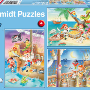CAR4056223 001 300x300 - Puzzle 3x48 pcs - Bande de pirates