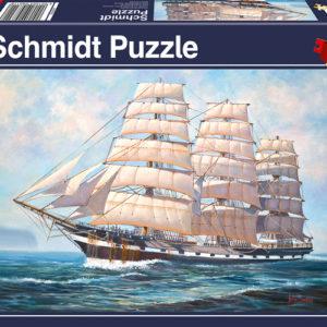 CAR4058311 001 300x300 - Puzzle 500 pcs - Hissez les voiles