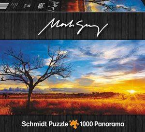 CAR4059287 001 300x273 - Puzzle 1000 pcs - Panorama Desert Oak at Sunset