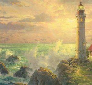 CAR4059477 002 300x276 - Puzzle 1000 pcs - Panorama Idylle à l'ombre du phare