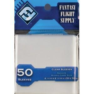 EDG661442 001 - Protèges-cartes série bleue 70x70 (50 pièces)