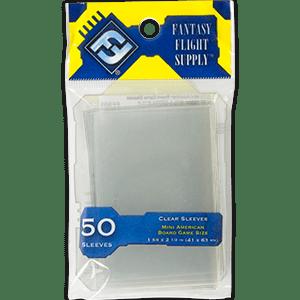EDG994511 001 - Protèges-cartes série jaune 41x63 mini-us (50 pièces)