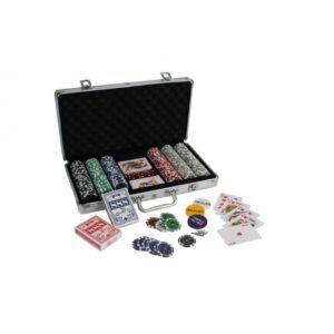 FRA860021 002 300x300 - Malette poker classique 300 jetons 11,5g + 2 jeux de 54 cartes