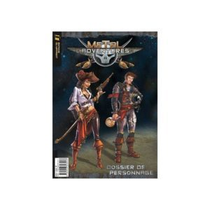 MAT632321 001 300x300 - Metal Adventures - Dossier de personnage (lot de 5)