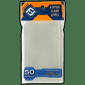 EDG661443 001 - Protèges-cartes série orange 70x120 tarot (50 pièces)